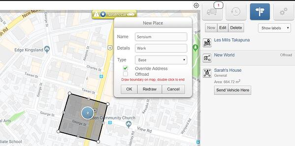 Creating a Geofence-5